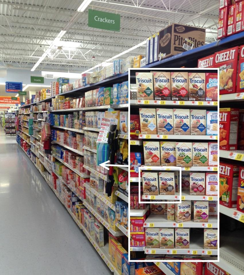TRISCUIT Walmart