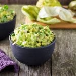 Easy Roasted Tomatillo Guacamole