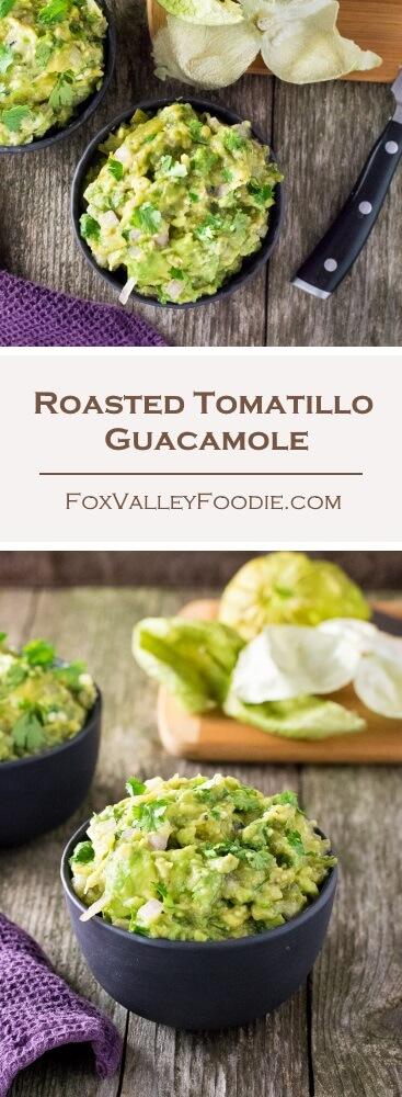 Roasted Tomatillo Guacamole Recipe