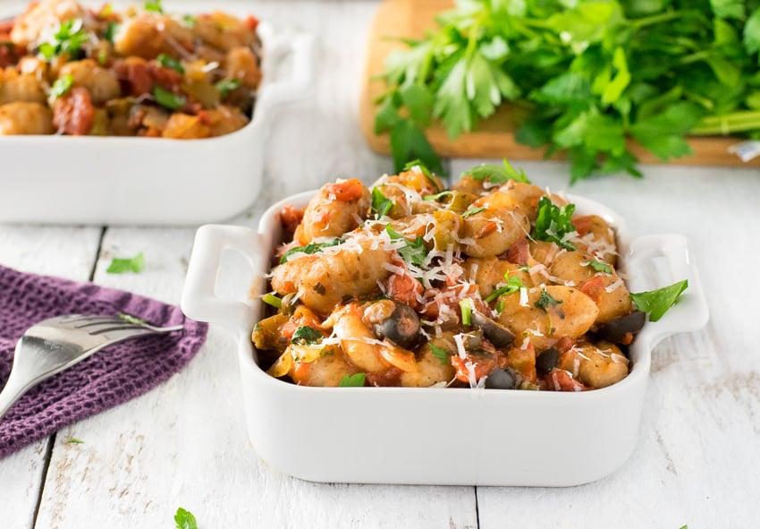 Healthy Italian Gnocchi
