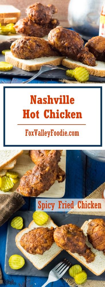 Nashville Hot Chicken Spicy Fried Chicken Recipe