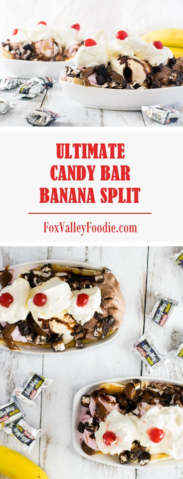 Ultimate Candy Bar Banana Split Recipe