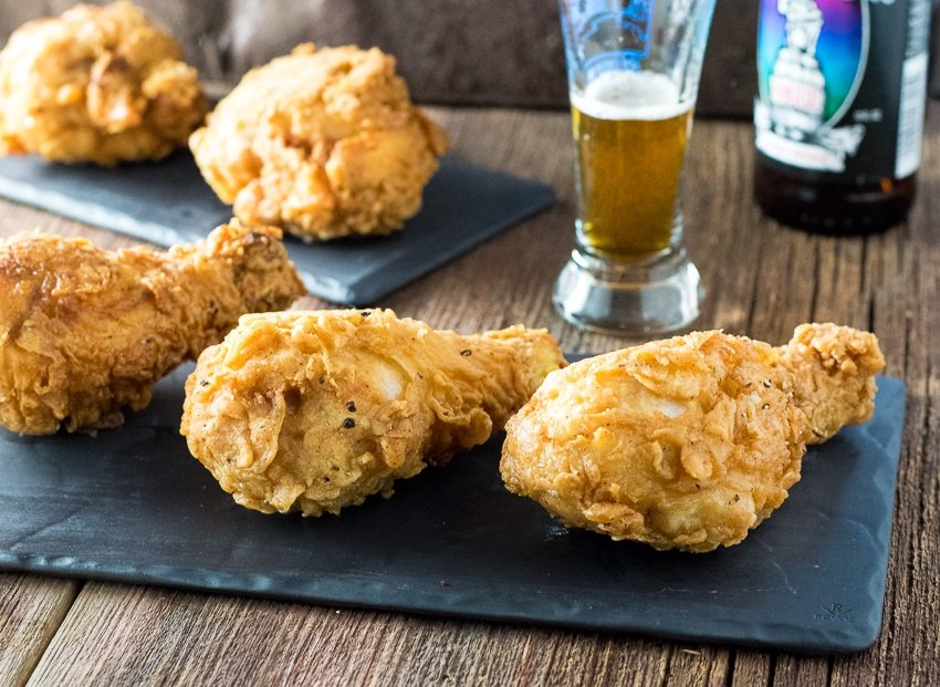 Shatterlingly Crispy Beer Fried Chicken - Fox Valley Foodie