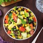 How to Make Avocado Black Bean Salad