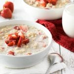 Strawberries and Cream Oatmeal