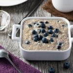 Blueberry Vanilla Oatmeal