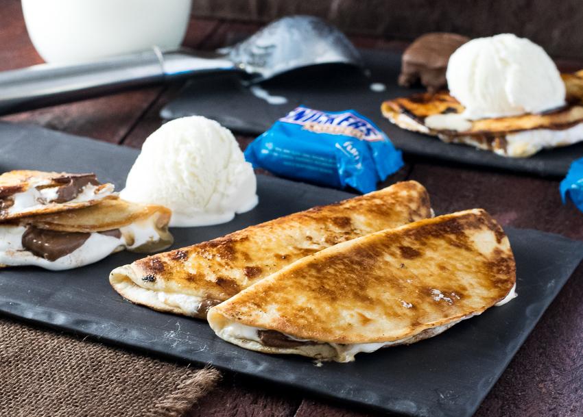 Dessert Quesadilla with SNICKERS® Crisper Recipe