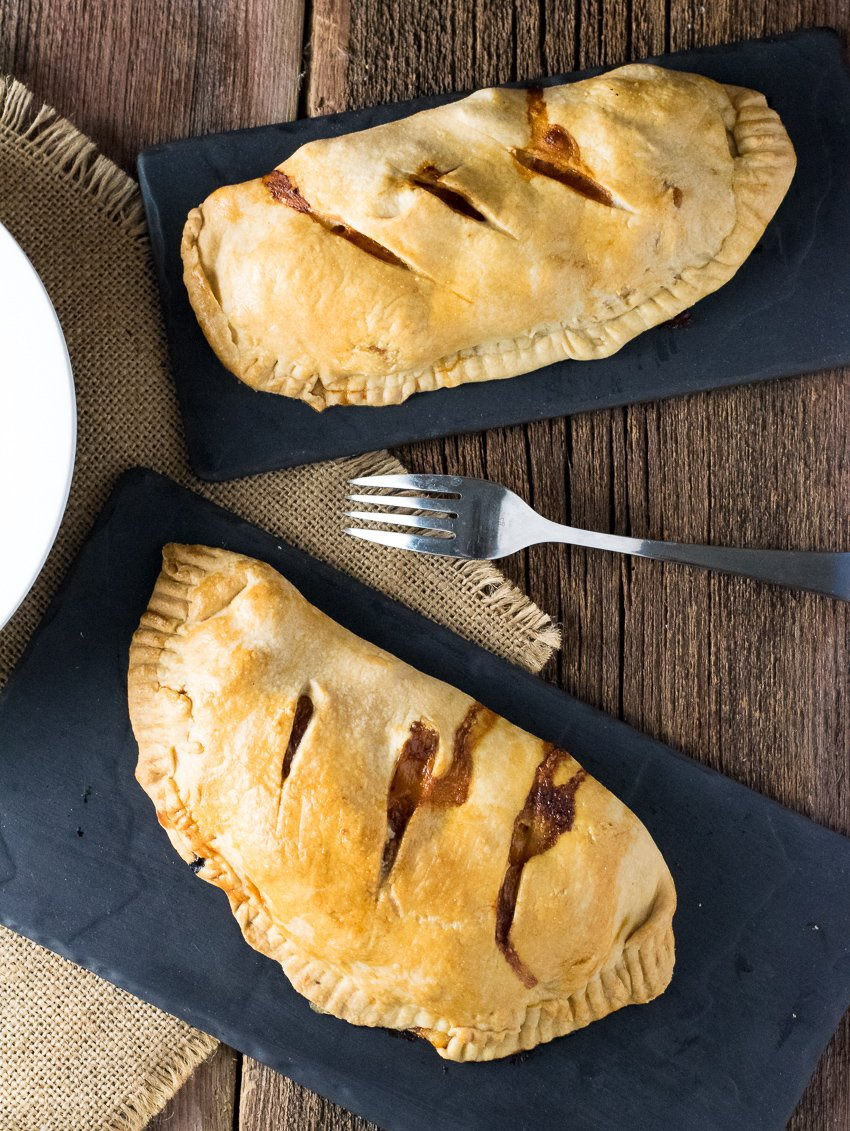 Ham Cheese and Potato Cornish Pasties