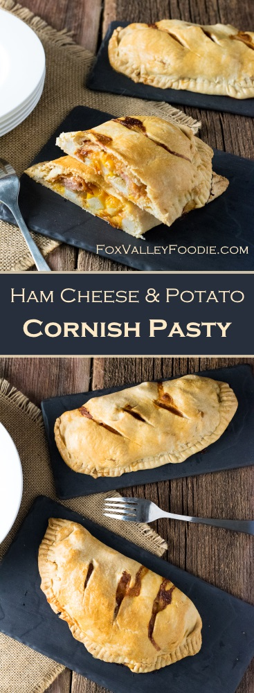 Ham Cheese & Potato Cornish Pasty Recipe