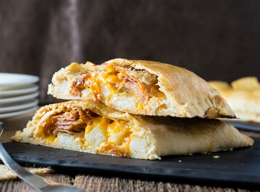 Ham Cheese and Potato Cornish Pasty Recipe