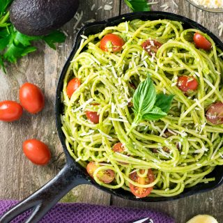 Healthy Avocado Pasta Recipe