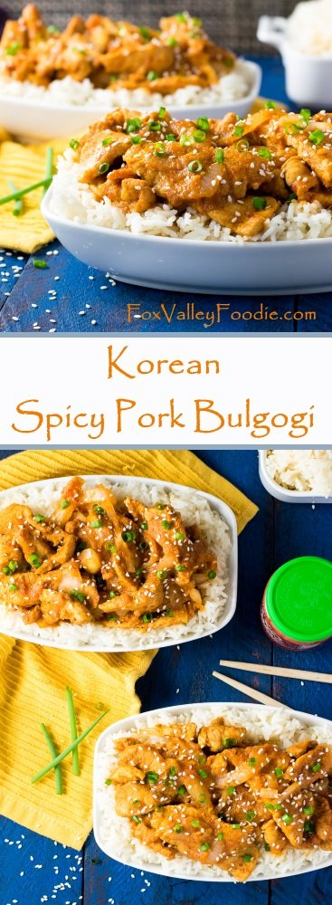 Korean Spicy Pork Bulgogi Recipe