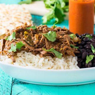 Slow Cooker Cuban Shredded Beef Ropa Vieja