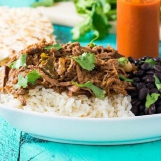Slow Cooker Cuban Shredded Beef Ropa Vieja