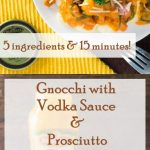 Gnocchi with Vodka Sauce and Prosciutto recipe. Tuscan way of cooking: https://ooh.li/9fc082e