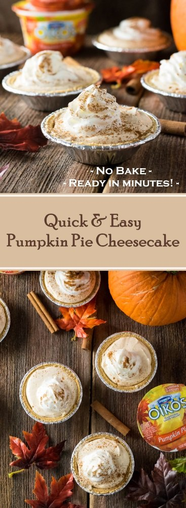 Quick and Easy Pumpkin Pie Cheesecake Recipe