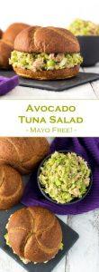 Avocado Tuna Salad Recipe - Mayo Free