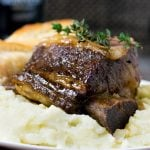 Beer Braised Short Ribs Dutch Oven Recipe