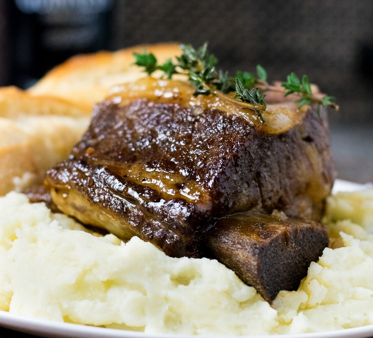 Beer Braised Short Ribs Dutch Oven Fox Valley Foodie