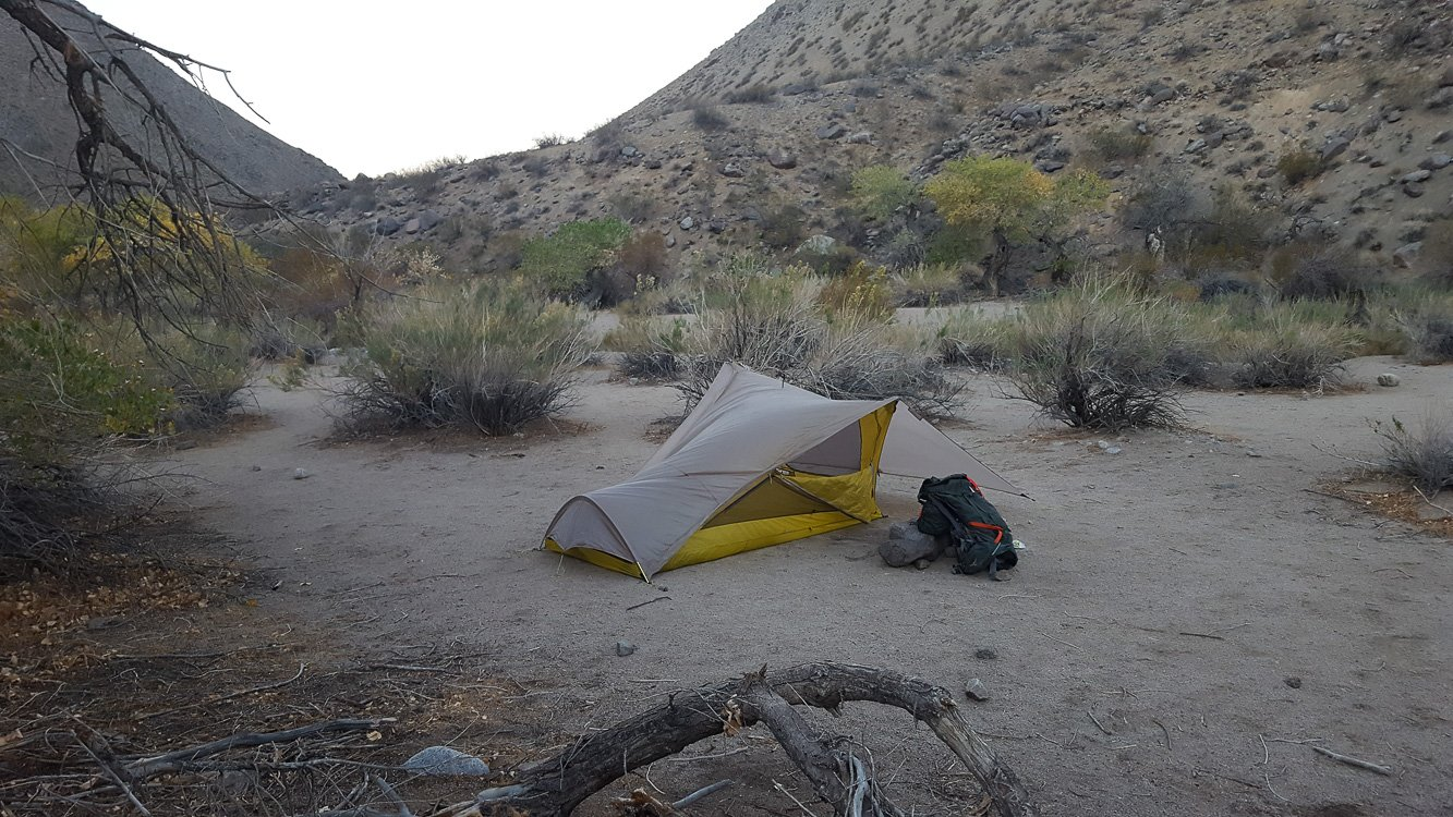 Death Valley Backpacking Cottonwood Canyon