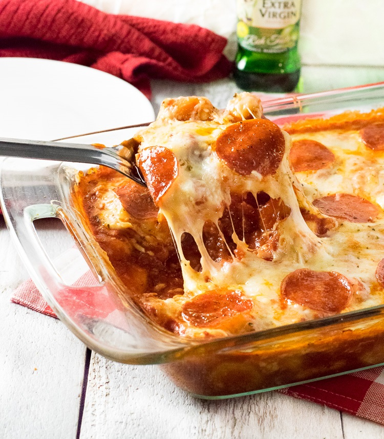 Easy Pizza Baked Gnocchi