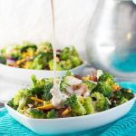Broccoli and Bacon Salad with Cheese