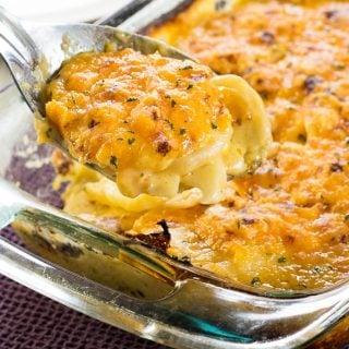 Buttermilk Ranch Potatoes au Gratin