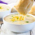 Cheesy Potato Dill Soup Recipe