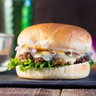Jamaican Jerk Pork Burger Recipe