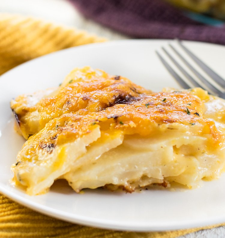 Buttermilk Ranch Potatoes au Gratin