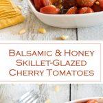 Balsamic and Honey Skillet-Glazed Cherry Tomatoes recipe