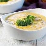 Creamy Crock Pot Broccoli Cheese Soup