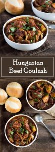 Hungarian Beef Goulash recipe