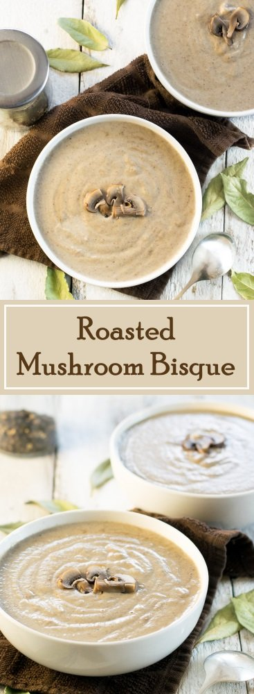 Roasted Mushroom Bisque recipe
