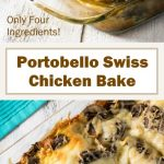 Portobello Swiss Chicken Bake Recipe