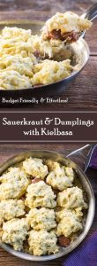 Sauerkraut and Dumplings with Kielbasa recipe