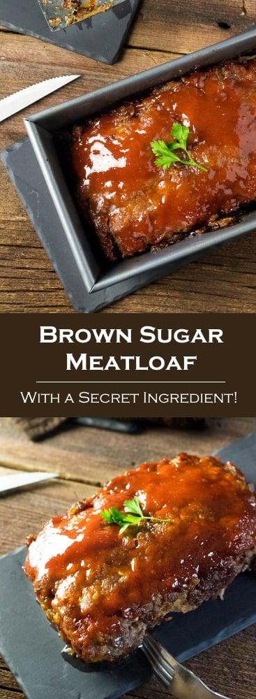 Brown Sugar Meatloaf with a Secret Ingredient