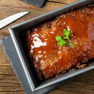 Brown Sugar Meatloaf with Secret Ingredient