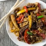 Korean BBQ Beef Stir Fry with Noodles