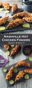 Nashville Hot Chicken Fingers recipe - Sweet and Spicy