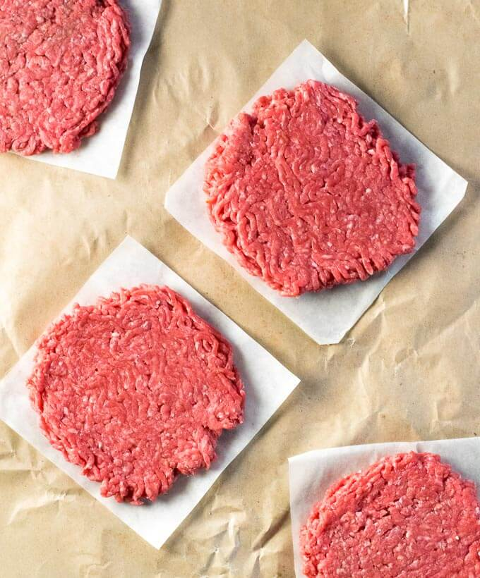Restaurant Burger Patties