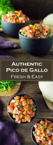 Authentic Pico de Gallo recipe - Fresh and Easy