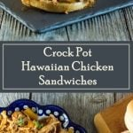 Crock Pot Hawaiian Chicken Sandwiches recipe