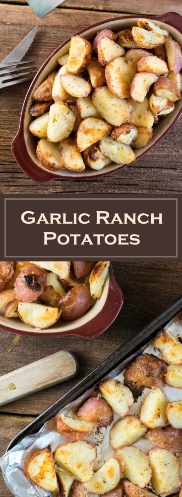 Garlic Ranch Potatoes recipe
