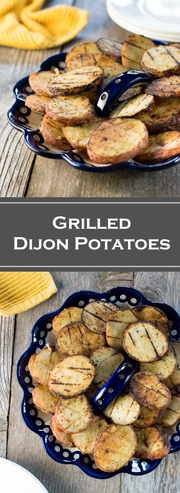 Grilled Dijon Potatoes recipe
