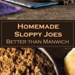 Homemade Sloppy Joes - Better than Manwich