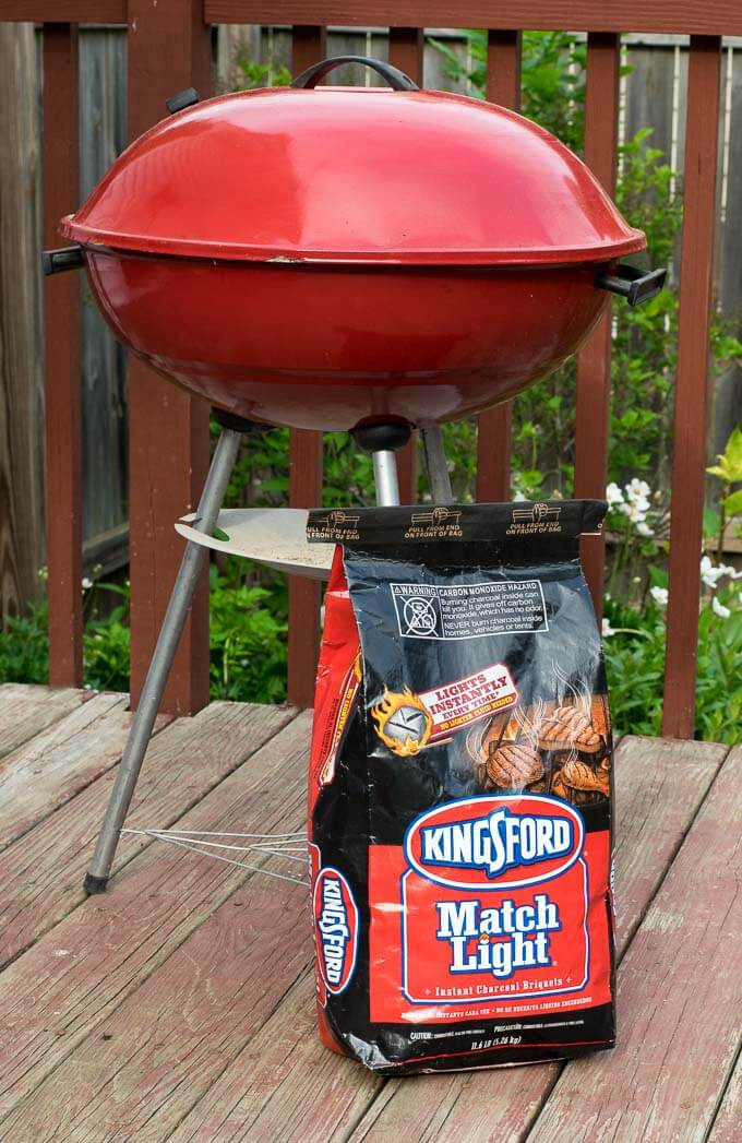 Kingford Match Light Charcoal and grill
