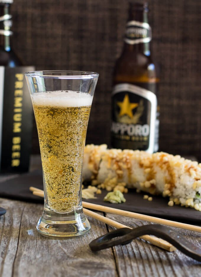 Sapporo Beer Sushi