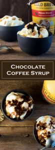 Chocolate Coffee Syrup Recipe