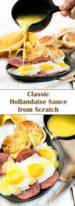 Classic Hollandaise Sauce from Scratch